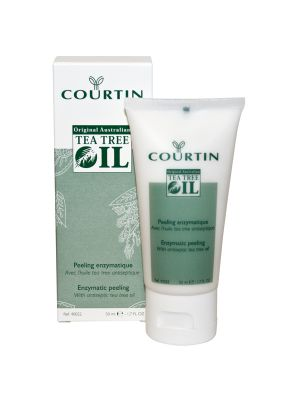 Courtin enzymatische peeling met tea tree oil - 50ml