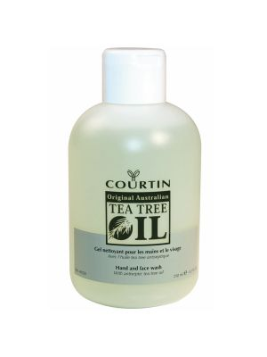 Courtin hand & face wash verrijkt met tea tree oil - 250ml