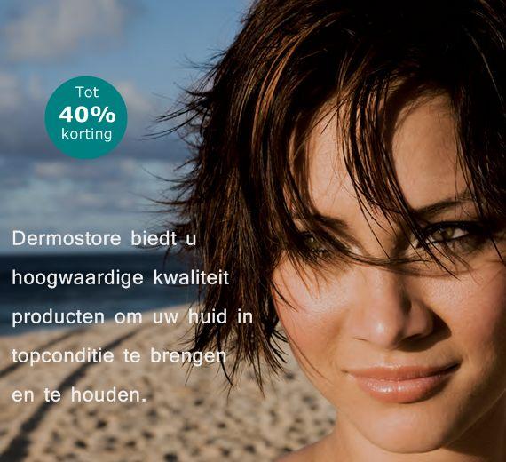 Dermostore verkoopt topmerken waar schoonheidsspecialisten mee werken.